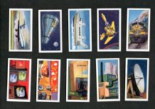 TRADE cards set Science in the 20th Century 1963 Rocket, telstar etc